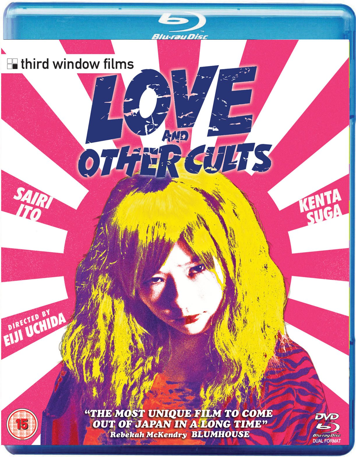 Love and Other Cults BluRay Case