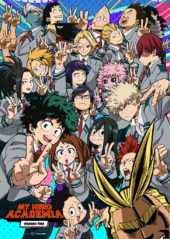 Sony Confirms My Hero Academia Season 2, Part 1 for April Release