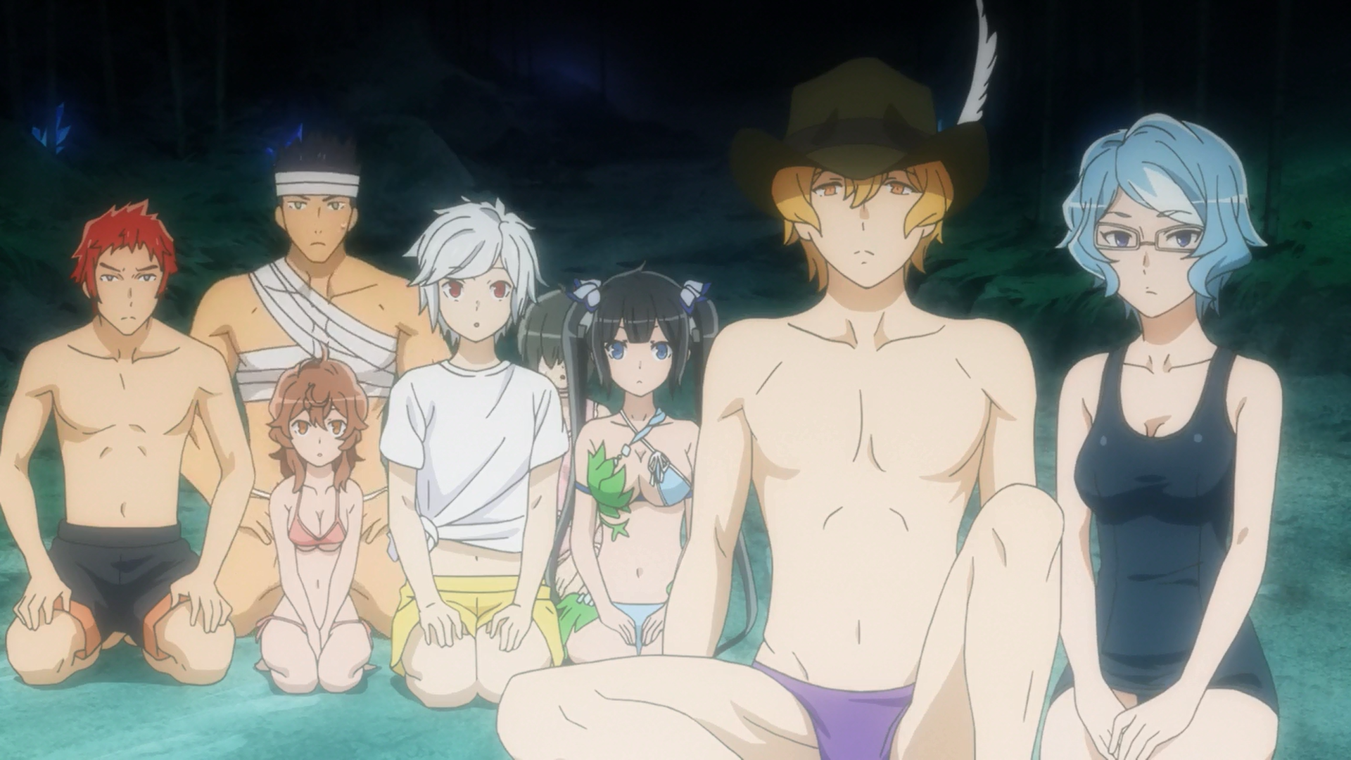 Is It Wrong to Expect a Hot Spring in a Dungeon? (DanMachi