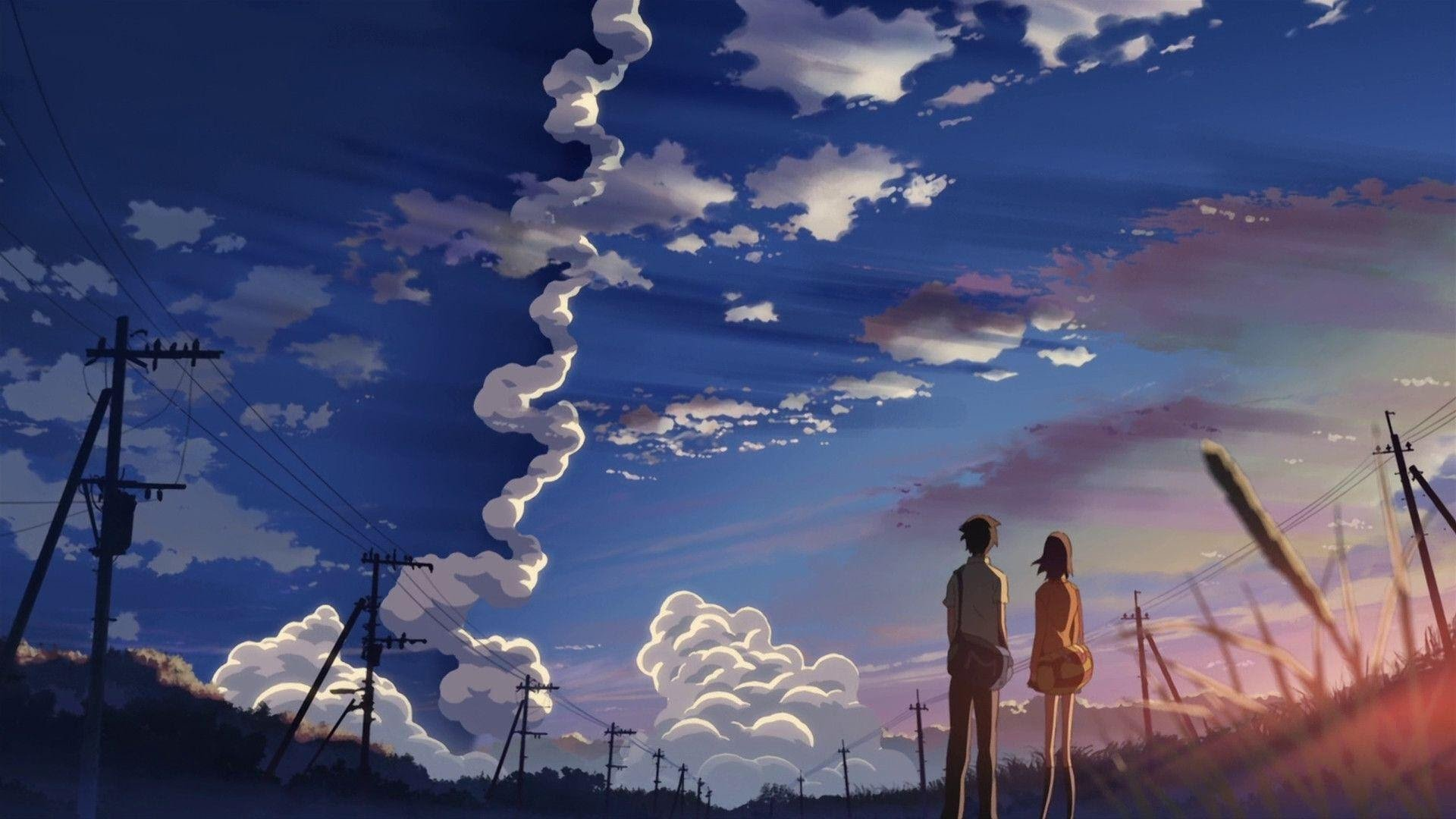 Makoto Shinkais 5 Centimeters Per Second Is Coming To Blu Ray Starting 29th October 2018 For Srp 15 99 It Will Be Released As A Standard Blu Ray Set In