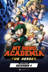 Manga UK Reveals My Hero Academia: Two Heroes SteelBook Artwork