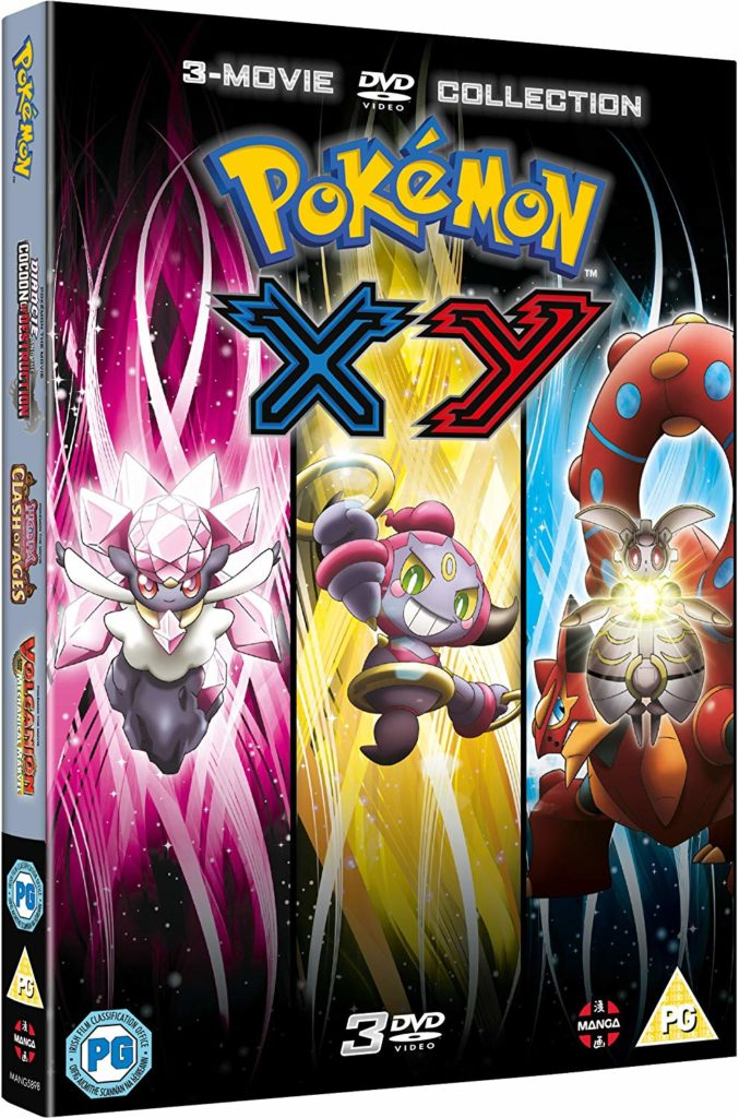 Pokemon Movie 17 19 Collection Xy Review Anime Uk News