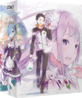 Anime Limited Announce Re:ZERO Part 2, Replacement Scheme for Part 1