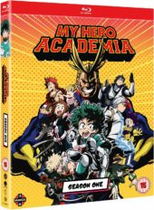 My Hero Academia Season 1 UK Blu-ray & DVD Re-Release Listed on Amazon