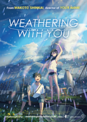 Weathering With You & Your Name UK Theatrical Double Bill Planned for 15th January 2020
