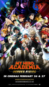 My Hero Academia the Movie: Heroes Rising Coming to UK & Ireland Theatrical Screens this February 2020