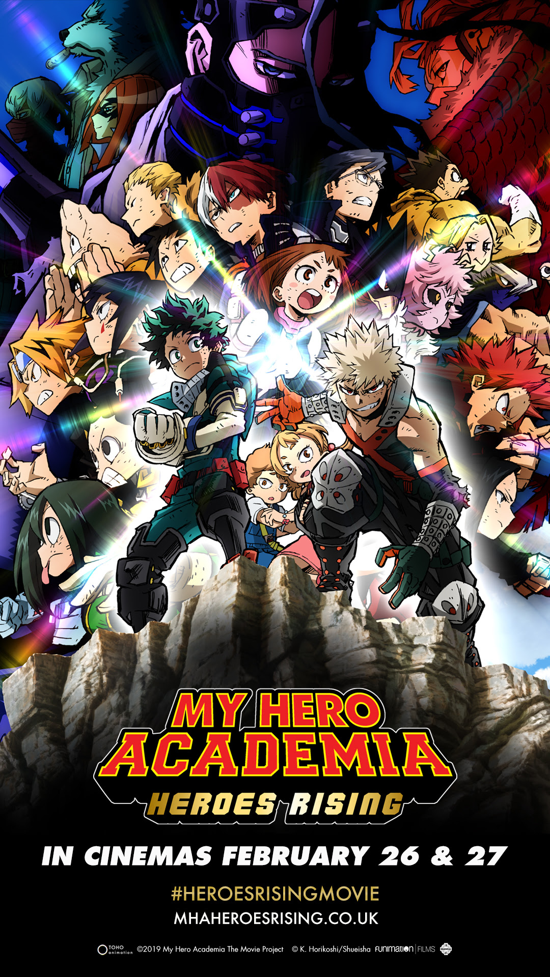 My Hero Academia The Movie Heroes Rising Coming To Uk Ireland Theatrical Screens This February 2020 Anime Uk News