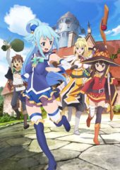 Anime Limited Acquires KONOSUBA Seasons 1 & 2 for UK Home Video Release