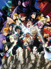 Manga Entertainment Schedules More My Hero Academia with Heroes Rising, Season 4 & More