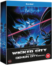 Manga Entertainment Schedules UK Uncut Blu-ray & DVD release for Demon City Shinjuku & Wicked City