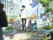 Anime Limited to Release Josee, The Tiger, and the Fish in Cinemas Next Month