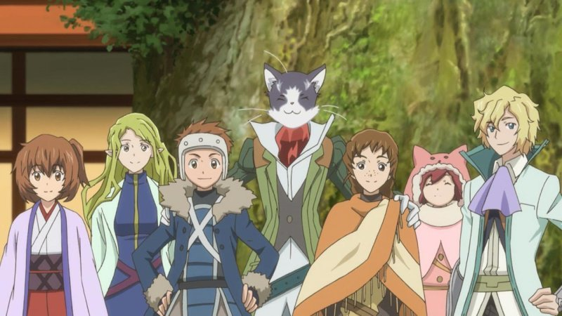 Log Horizon Screen 1