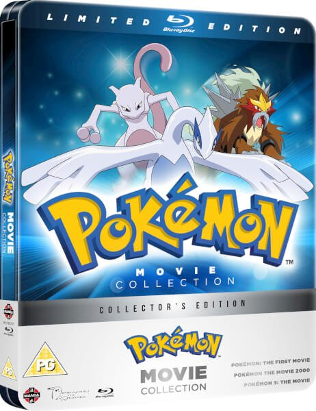 Pokemon Movies 1-3 collection