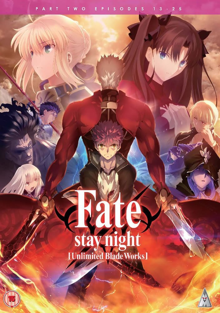 fate UBW part 2 cover DVD